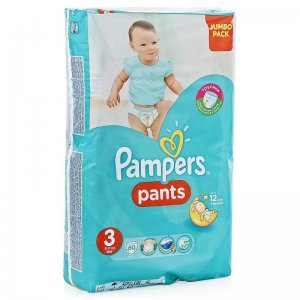 Трусики Pampers pants midi 6-11 кг (3) 60 шт