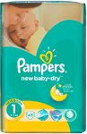 Подгузники Pampers New Baby (2-5кг) 43шт